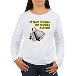 Divine Polka Women's Long Sleeve T-Shirt