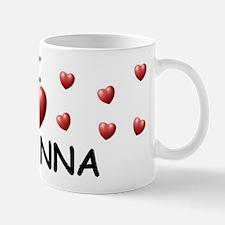 I Love Bryanna - Mug