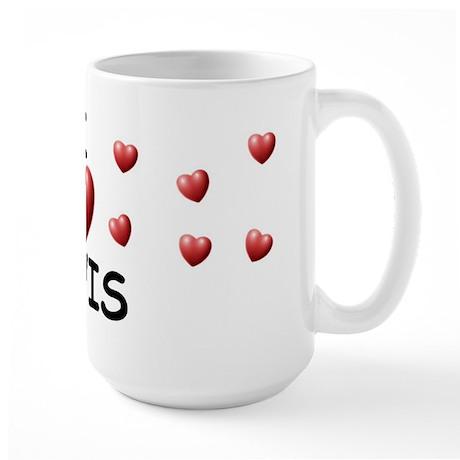 I Love Elvis - Large Mug