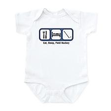 Eat, Sleep, Field Hockey Infant Bodysuit