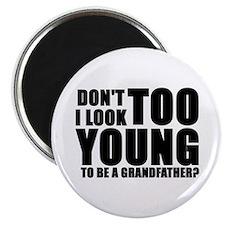 Cute Great grandma to be Magnet