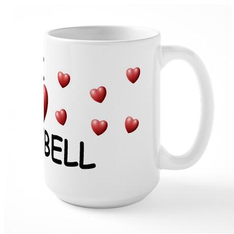 I Love Campbell - Large Mug