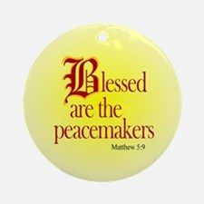Blessed are the peacemakers Keepsake (Round)