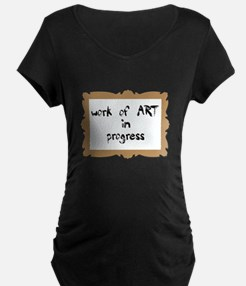 Work of Art in Progress IVF T-Shirt