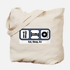 Eat, Sleep, DJ Tote Bag