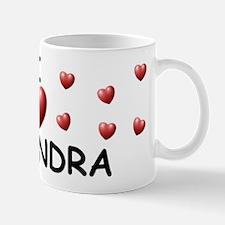 I Love Casandra - Mug