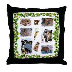 CollageThrow Pillow