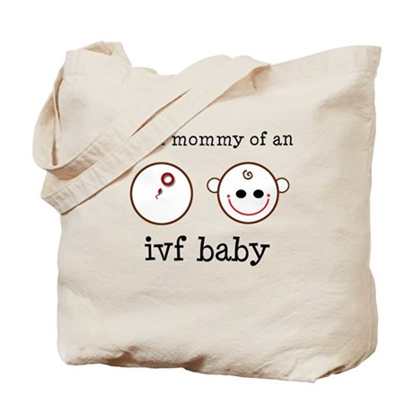 Proud Mommy of IVF Baby Tote Bag