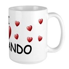I Love Fernando - Mug