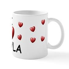 I Love Cayla - Small Mug