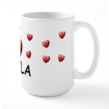 I Love Cayla - Mug