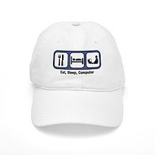 Eat, Sleep, Computer Geek Baseball Cap