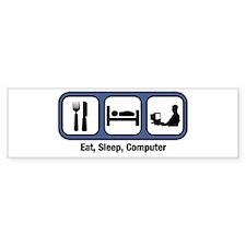 Eat, Sleep, Computer Geek Bumper Stickers