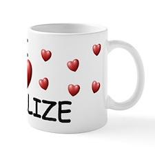 I Love Charlize - Mug