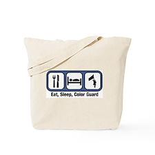Eat, Sleep, Color Guard Tote Bag