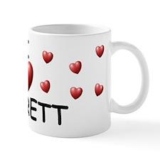 I Love Garrett - Coffee Mug