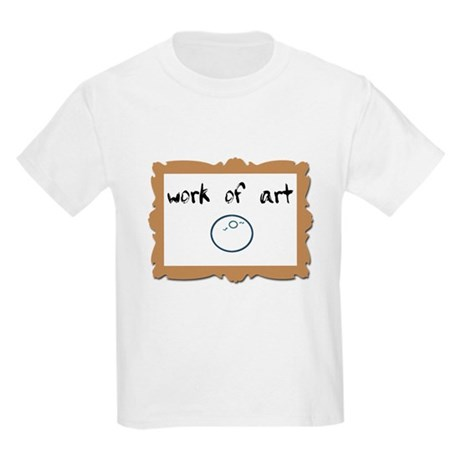 Work of ART - IVF baby Kids Light T-Shirt