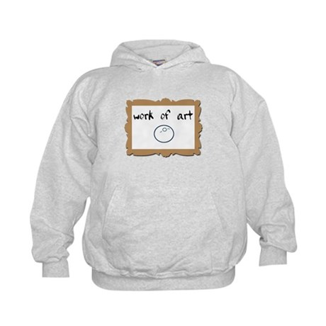 Work of ART - IVF baby Kids Hoodie