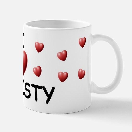 I Love Christy - Mug