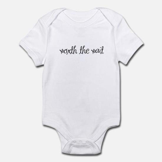 Worth the Wait - IVF baby Infant Bodysuit