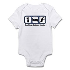 Eat, Sleep, Ballroom Dancing Infant Bodysuit
