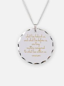 Unique Faux gold Necklace