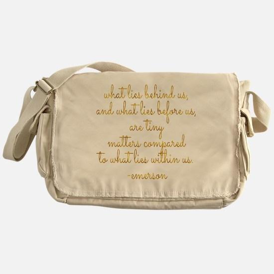 Unique Emerson Messenger Bag