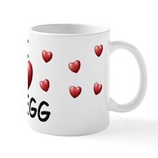 I Love Gregg - Mug