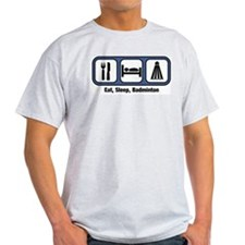Eat, Sleep, Badminton T-Shirt