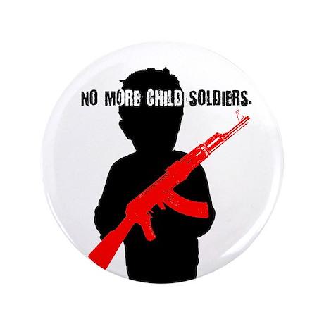 "No Child Soldiers 3.5"" Button"