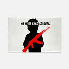 No Child Soldiers Rectangle Magnet (10 pack)