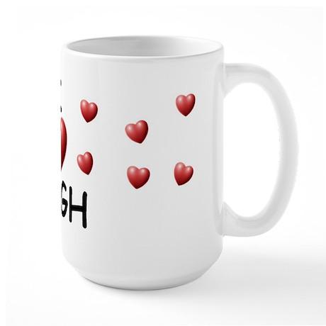 I Love Hugh - Large Mug