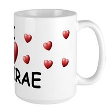 I Love Desirae - Mug