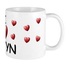 I Love Devyn - Mug