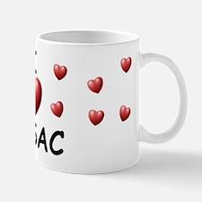 I Love Issac - Mug