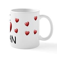 I Love Ivan - Small Mugs