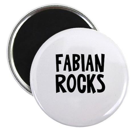 "Fabian Rocks 2.25"" Magnet (10 pack)"