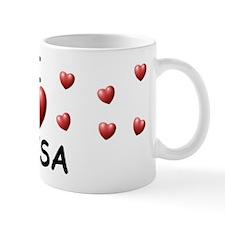 I Love Elisa - Coffee Mug
