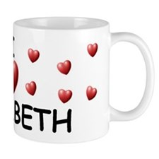 I Love Elisabeth - Mug