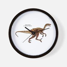 Velociraptor Dinosaur Carnivore Wall Clock