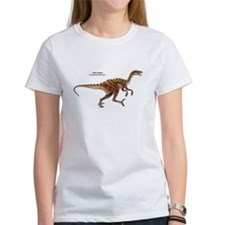 Velociraptor Dinosaur Carnivore (Front) Tee