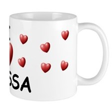 I Love Elyssa - Small Mug