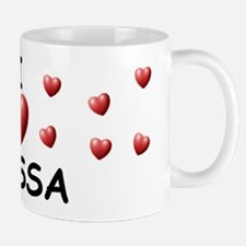 I Love Elyssa - Small Small Mug