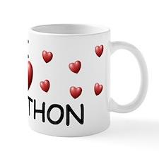 I Love Jonathon - Mug
