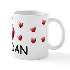 I Love Jordan - Mug