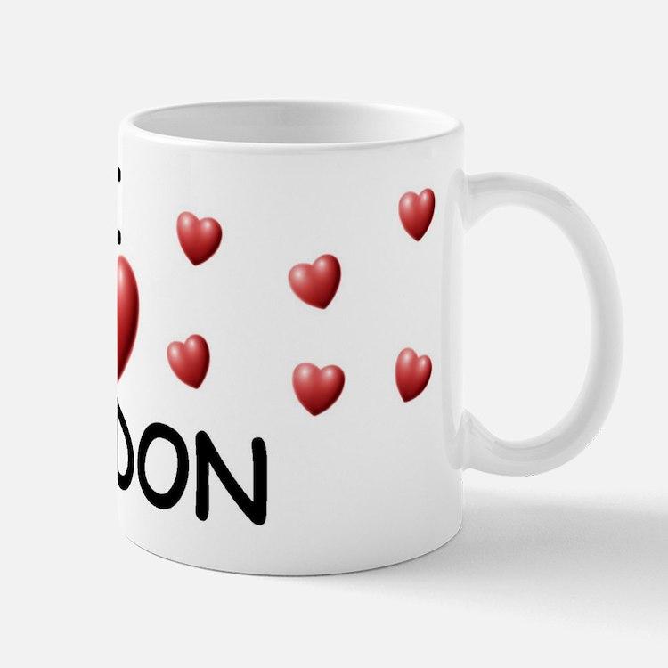 I Love Jordon - Mug