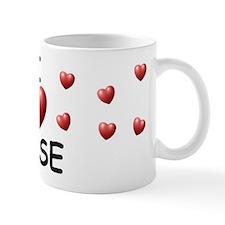 I Love Jose - Small Mugs