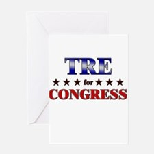 TRE for congress Greeting Card