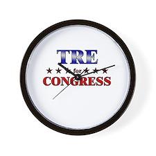 TRE for congress Wall Clock
