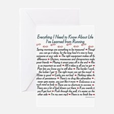 Running Life Lessons - 26.2 Greeting Cards (Packa